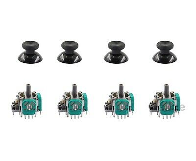 4 Pcs 3D Controller Joystick Axis Analog Sensor Module & Thumbstick for Xbox One
