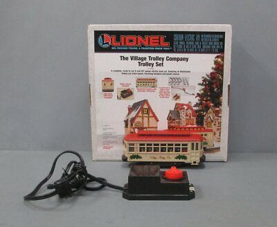 Lionel 6-11809 The Village Trolley Christmas Train Set EX/Box