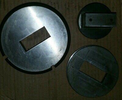 Wilson Tool Punch Press Die 0.840 - 2.000 Rt Shp 90.0 0.828 X 1.988 Rt Turret