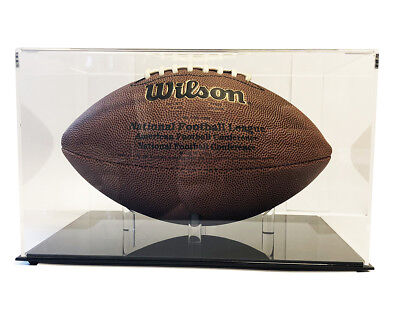 Ultra Max High Clarity Pro Deluxe Premium Football Display Case - Max -