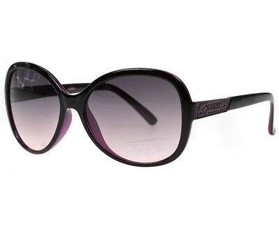 Gradiant Lens - Guess Ladies Designer Sunglasses Black Frame & Purple Gradiant Lens  GU7207 NEW