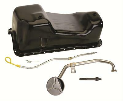 Ford Racing M-6675-A58 Oil Pan Steel Black 5 qt. Ford Mustang 351W Each (Each Ford Mustang Racing)