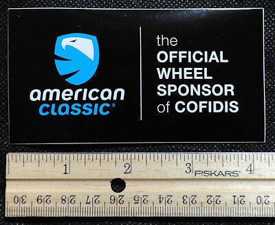 AMERICAN CLASSIC Sticker - BMX MTB Biking Cycle Road Bike Hubs - American Classic Mtb Wheels