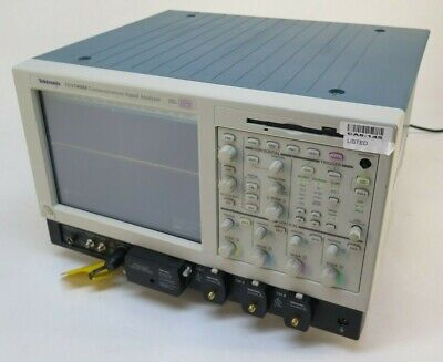 Tektronix Csa7404 Communications Signal Analyzer 4 Ghz 20 Gss Dpo