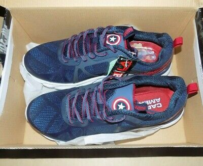 La Gear Captain America Marvel Running Shoes Size 11 US NEW in the Box