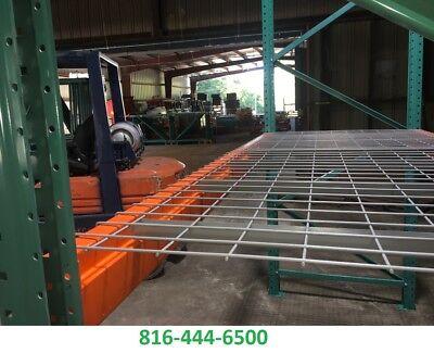 Pallet Rack 42-in X 46-in Wire Mesh Deck 3 Chan 2500 Lbs Cap Racking