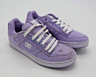 A4961 Women's DC Shoes Spartan Sport Low TX Skate Shoe Lavender 6 - Dc Spartan Low Shoes