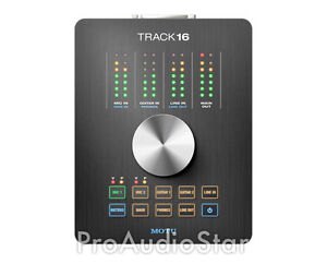 MOTU Track16 16x14 Desktop Studio Interface TRACK 16 PROAUDIOSTAR