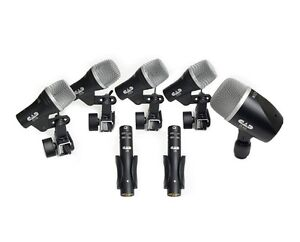 CAD-Stage-7-Drum-Microphones-Package-2-Condenser-Overheads-5-Drum-Mics