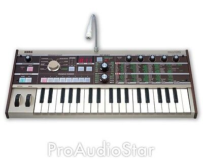 Korg microKORG 37-mini Micro key 4-voice Synthesizer & Vocoder ..PROAUDIOSTAR-- on Rummage