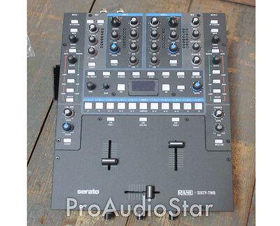Rane SIXTY-TWO 62 DJ Mixer for Serato Scratch Live PROAUDIOSTAR--