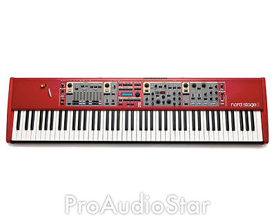Nord Stage 2 88 Key Piano Organ Synthesizer Keyboard -- on Rummage