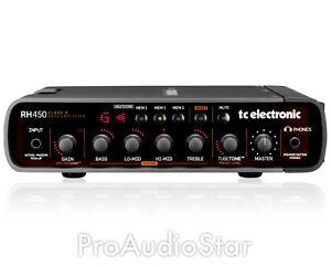 TC Electronic RH-450 Bass Head 450 Watt RH450 -  PROAUDIOSTAR   BRAND NEW
