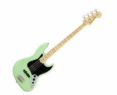 Fender American Performer Jazz Bass - Satin Surf Green w/ Maple FB - Used