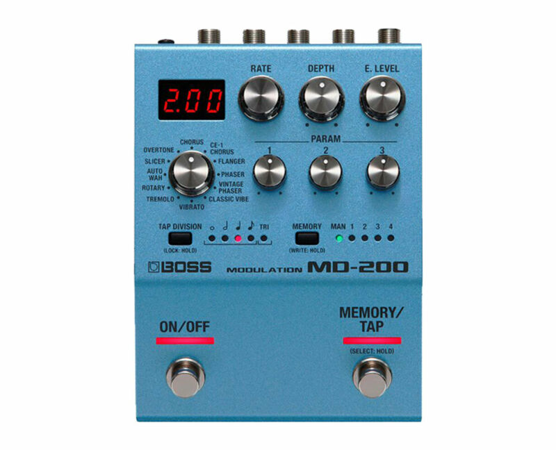 Boss MD-200 Modulation Effects Pedal - Used