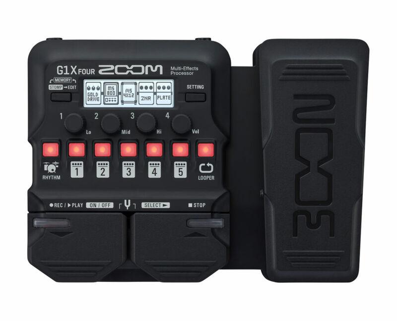 Zoom G1XFOUR Multi-Effects Processor