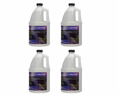 4 Gallon Fog Fluid (4x CHAUVET DJ QDF 4-Pack of Quick Dissipating Fog Fluid/Juice Gallon )