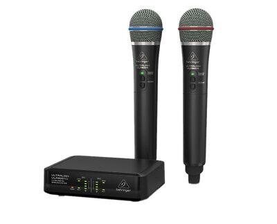 Behringer ULM302MIC Digital Wireless Microphone Dual Mic Pai