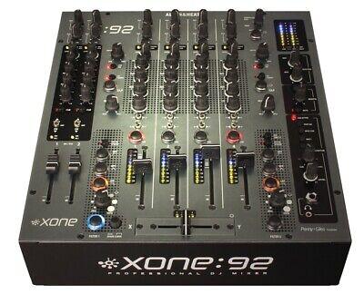 Allen & Heath Xone:92 Fader Pro DJ Mixer w/Dual Resonant Filters PROAUDIOSTAR