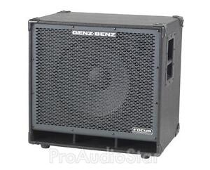 Genz Benz FCS-115T Bass Speaker Cabinet Focus LT  (1x15