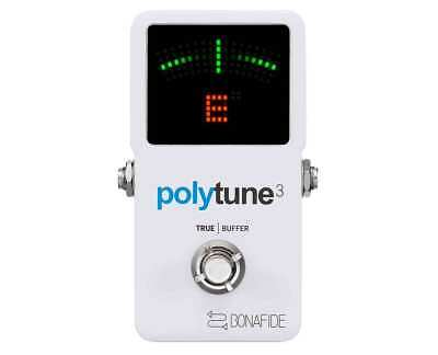 TC Electronic Polytune 3 Polyphonic Tuner w/ Bonafide Buffer