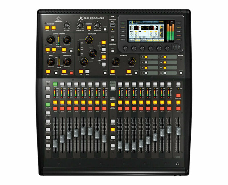Behringer X32 Producer 40-Input, 25-Bus Digital Mixing Console PROAUDIOSTAR
