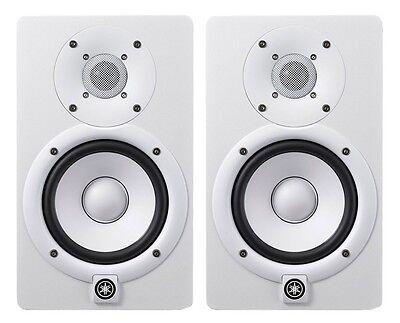 Yamaha HS7W Powered Studio Monitor White (Pair) **BRAND NEW**