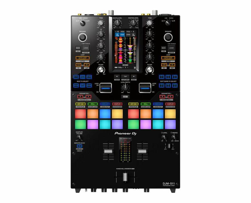 Pioneer DJM-S11 Professional 2-Channel 4-Deck DJ Battle Mixer PROAUDIOSTAR