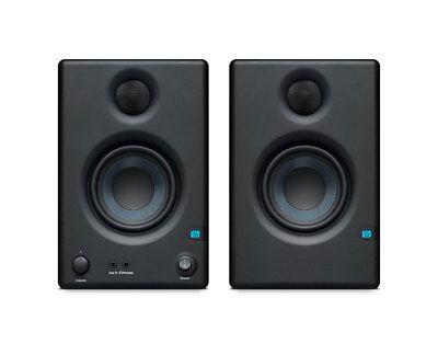 PreSonus Eris E3.5 Compact 3.5-Inch Powered Studio Monitor Active Speaker Pair Powered Monitor Speaker