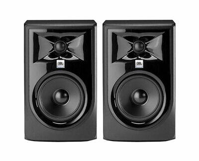 - 2x JBL 305P MkII Active Speaker Pair Powered Studio Monitor PROAUDIOSTAR