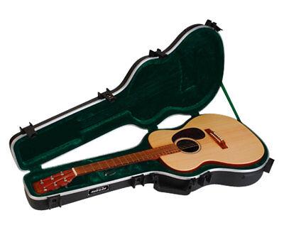 000 Acoustic Guitar Case - SKB 1SKB-000 000 Sized Acoustic Guitar TSA Travel Case PROAUDIOSTAR