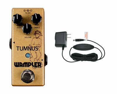 Wampler Tumnus Overdrive + Power Supply