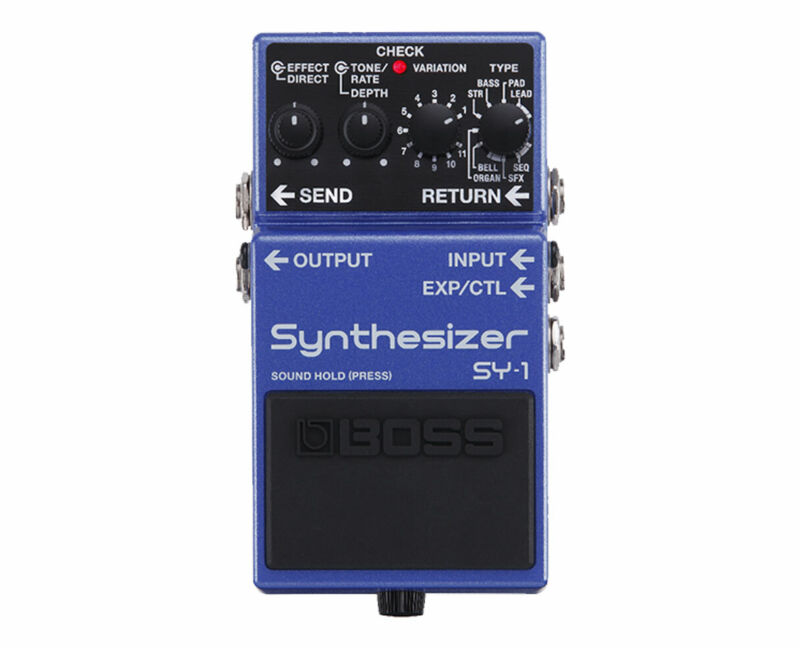 Boss SY-1 Synthesizer Pedal - Used