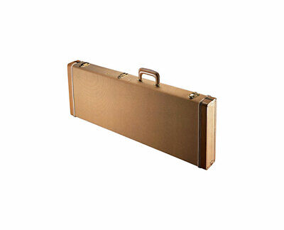 Gator Cases GW-ELECTRIC-TW Deluxe Wood Case for Electric Guitars in Tweed