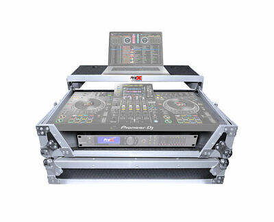 ProX XS-XDJXZ WLT Flight Case for Pioneer XDJ-XZ DJ System w/ Shelf & Wheels