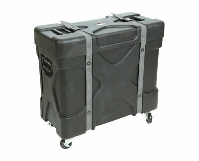 SKB 1SKB-TPX2 Roto-Molded Trap X2 Drum Hardware Case w/ Built-in Cymbal Vault