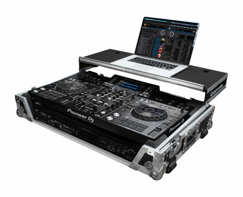 Odyssey FZGSXDJRX2W2 Glide Style DJ Case with Wheels for Pioneer XDJ-RX2 XDJRX2