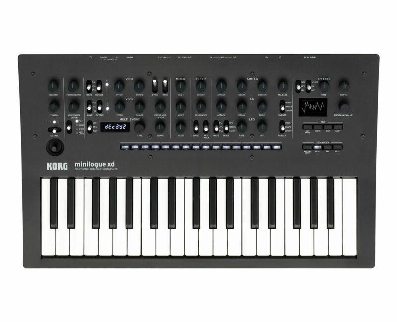 Korg Minilogue XD 37-Key Synthesizer w/ Prologue MULTI Engine - Used