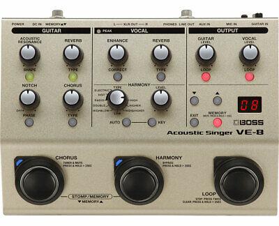Boss VE-8 Acoustic Singer --