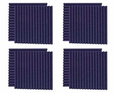 8 Pack - Ultimate Acoustics UA-WPW-24PR Wedge Style Studio Foam (Purple) 24x24x2