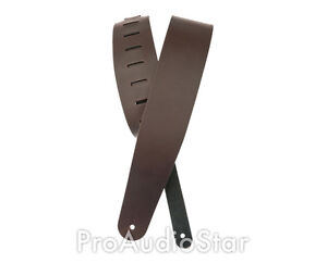 Planet Waves Classic Leather Guitar Strap Brown PROAUDIOSTAR