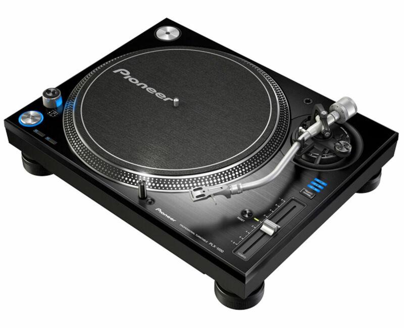 Pioneer PLX-1000 Direct Drive Analog Professional Turntable PROAUDIOSTAR