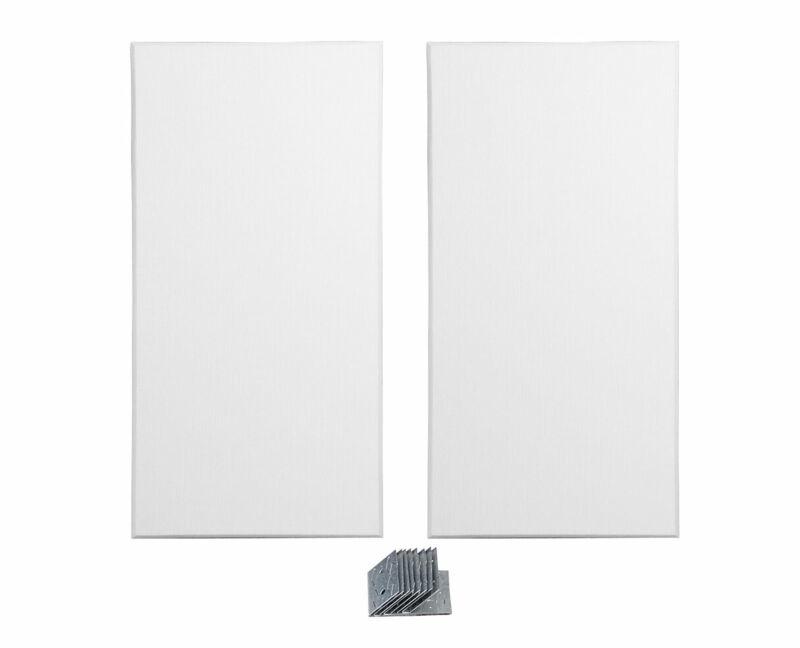 Primacoustic London Bass Trap White, Paintable Pair Acoustic Room Treatment