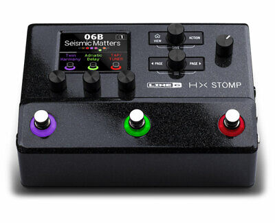 Line 6 HX Stomp Compact Multi-Effects Unit featuring Helix Effects - Used