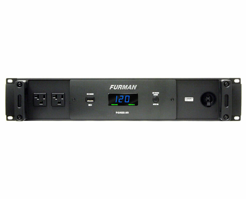 Furman P-2400 AR 14-Outlet 20 Amp Power Conditioner Surge Protector Noise Filter