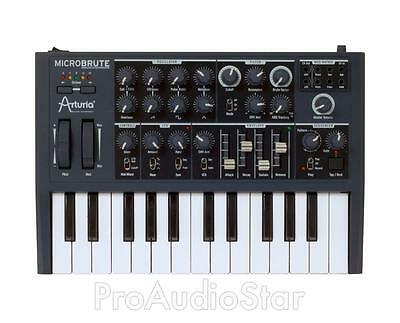 Arturia MicroBrute Analog Synthesizer Keyboard PROAUDIOSTAR