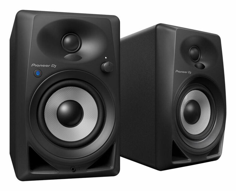 """Pioneer DM-40BT 4"""" Active Speaker Pair with Bluetooth Powered Desktop Monitors"""