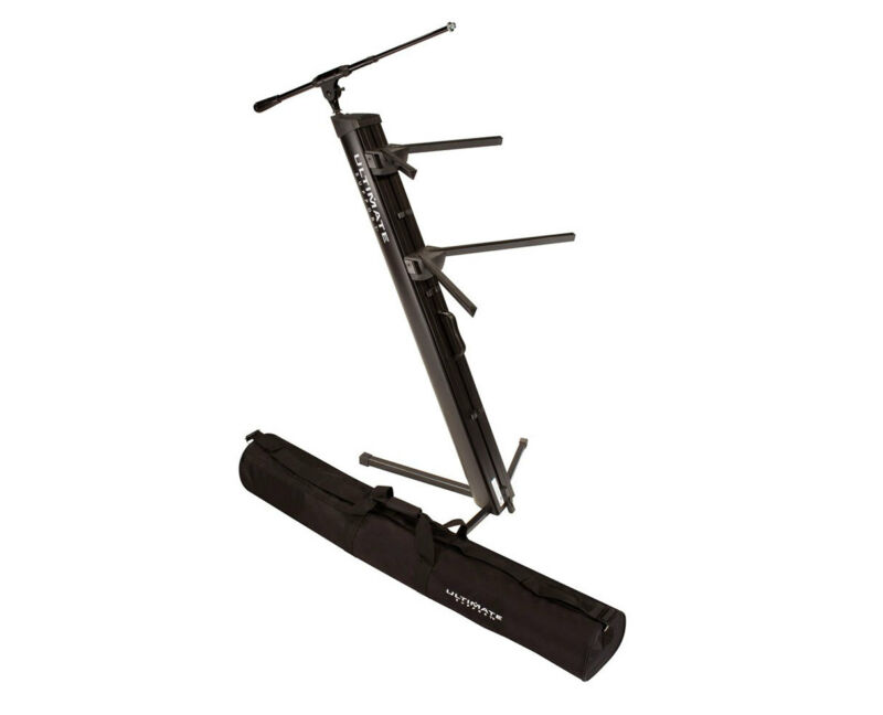 Ultimate Support APEX AX-48 Pro Plus Keyboard Stand + Mic Boom + Tote Carry Bag