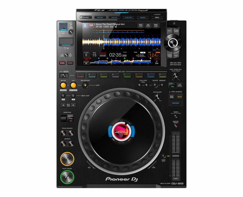 Pioneer CDJ-3000 Professional DJ Multi Player (Black) PROAUDIOSTAR