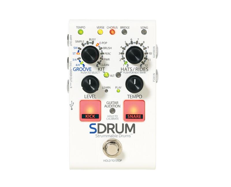 Digitech SDRUM Strummable Drums Drum Machine Pedal - Open Box